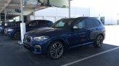 2017 BMW X3 M40i front three quarters