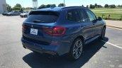 2017 BMW X3 M40i rear three quarters