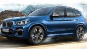 2017 BMW X3 M40i xDrive exterior leaked image