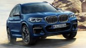2017 BMW X3 M40i xDrive front three quarters leaked image