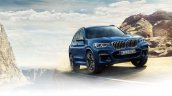 2017 BMW X3 front three quarters in motion leaked image