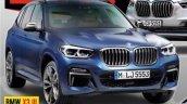 2017 BMW X3 front three quarters magazine leaked image