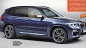 2017 BMW X3 magazine leaked image