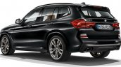 2017 BMW X3 rear three quarters leaked image