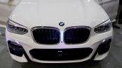 2017 BMW X3 xDrive30d front fascia