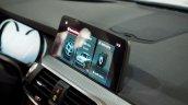 2017 BMW X3 xDrive30d infotainment system screen