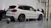 2017 BMW X3 xDrive30d rear three quarters
