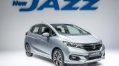 2017 Honda Jazz (facelift) V front quarter launched Malaysia