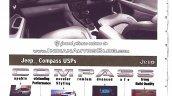 2017 Jeep Compass interior scheme