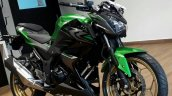 2017 Kawasaki Z250 dealership front three quarter right