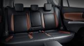 2017 (Maruti) Suzuki S-Cross rear seats