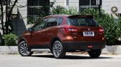 2017 (Maruti) Suzuki S-Cross rear three quarters