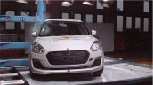 2017 Suzuki Swift Pole crash test