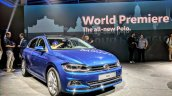2017 VW Polo front three quarters live image