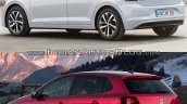 2017 VW Polo vs. 2014 VW Polo rear three quarters