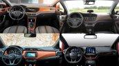 2017 VW Polo vs. 2017 Ford Fiesta vs. 2017 Nissan Micra vs. Hyundai i20 interior