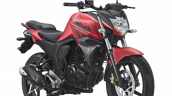 2017 Yamaha Byson Matte Red front three quarter