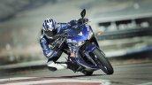 2017 Yamaha R3 Europe motion blue front