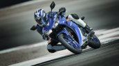 2017 Yamaha R3 Europe motion blue headlamp