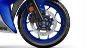 2017 Yamaha R3 Europe studio blue front disc