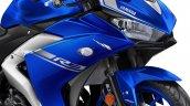 2017 Yamaha R3 Europe studio blue headlamp