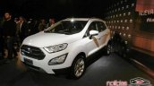 2018 Ford EcoSport (facelift) front three quarters left side