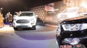 2018 Ford EcoSport (facelift) front unveiling event