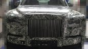 2018 Rolls-Royce Phantom front spy shot