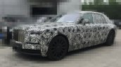 2018 Rolls-Royce Phantom front three quarters spy shot