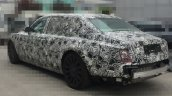 2018 Rolls-Royce Phantom rear three quarters spy shot