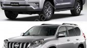 2018 Toyota Land Cruiser Prado vs. 2014 Toyota Land Cruiser Prado front three quarters