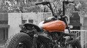 Bajaj Avenger 220 Bobber by Ornithopter Moto House rear three quarter
