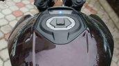 Bajaj Dominar 400 user review Savio fuel tank lid
