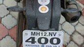 Bajaj Dominar 400 user review Savio number plate