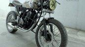 Bajaj Pulsar 150 cafe racer by Gear Gear Motorcycles front three quarter