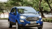 Brazilian-spec 2018 Ford EcoSport front three quarters right side