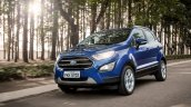 Brazilian-spec 2018 Ford EcoSport front three quarters