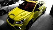 Custom Chevrolet Cruze Widebody by 360 Motoring top view