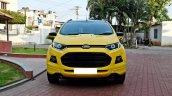 Custom Ford EcoSport Triple Yellow Matte Paint headlamp