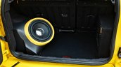 Custom Ford EcoSport with Triple Yellow Matte Paint Job woofer