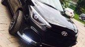 Custom Hyundai i20 front by Retro Car Restoration