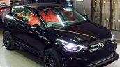 Custom Hyundai i20 front three quarter by Retro Car Restoration
