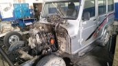 Custom Mahindra Armada images engine transplant