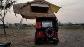 Custom Mahindra Thar foldable tent by The Transporter