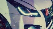 Custom Maruti Swift by O2 Garage headlamps