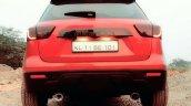 Custom Maruti Vitara Brezza red rear