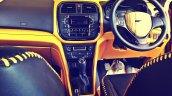Custom Maruti Vitara Brezza steering wheel by DC Designs