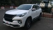 Custom Toyota Fortuner bodykit by Tithum front three quarter