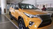 Custom Toyota Fortuner with new Nippon body kit front quarter
