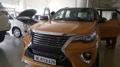 Custom Toyota Fortuner with new Nippon body kit grille